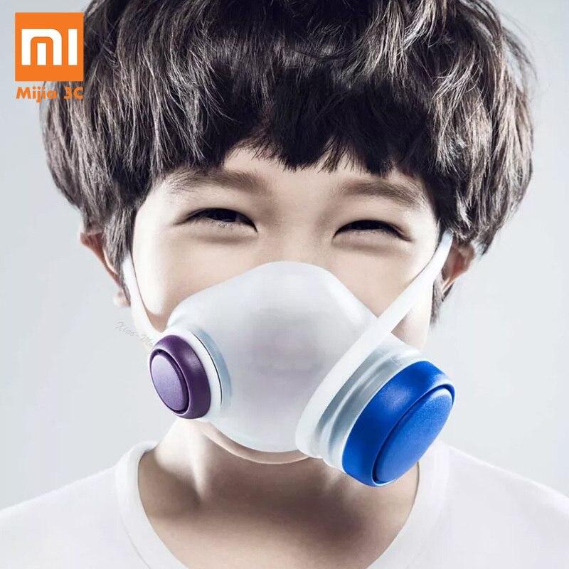 Xiaomi Mijia Woobi jouer enfants Sport masques pour le visage respiration propre enfants respirateurs sûrs bloquer la poussière PM2.5 brume Anti-Pollution de l'air
