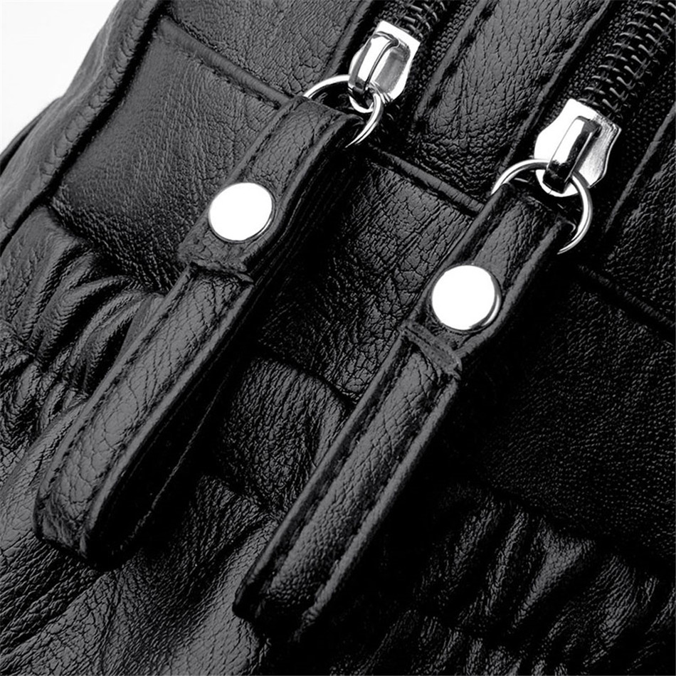 HTB1DkJMaLfsK1RjSszbq6AqBXXap Women Backpack Female High Quality Soft Leather Book School Bags For Teenage Girls Sac A Dos Travel Back pack Rucksacks Mochilas
