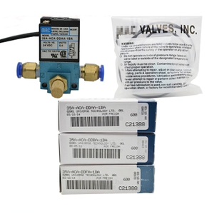 """Image 5 - 1/8"""" DC12V 5.4W Mac 35A Type High Frequency Solenoid Valve 35A ACA DDBA 1BA for Dispenser Marking Dispensing Machine"""