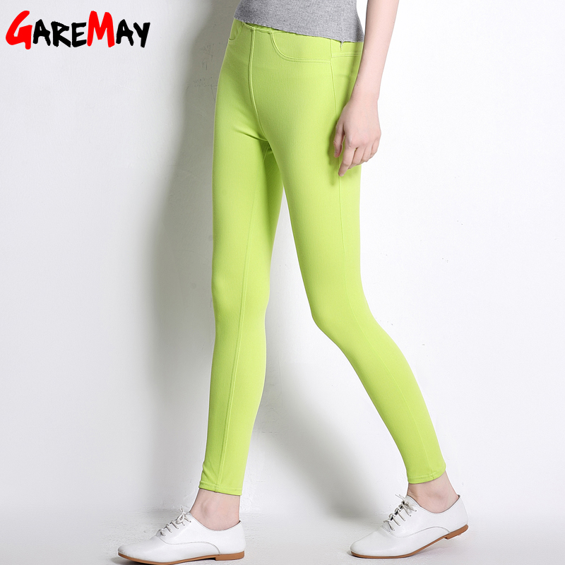 Ležerne hlače visoke ženske tanke donje hlače Stratch Pantalon - Ženska odjeća - Foto 3
