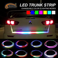 OKEEN Car Styling 12V RGB LED Truck Strip Light Bar Tailgate Light Rear Turn Signal Light