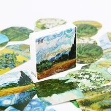 90 Pcs Van Gogh Stickers