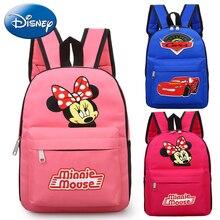 0c1b0f7e3615b 2019 Disney dzieci Mickey plecak śliczne Minnie Mouse torba kobieca torebka  dziewczyny mody szkoła plecaki chłopiec