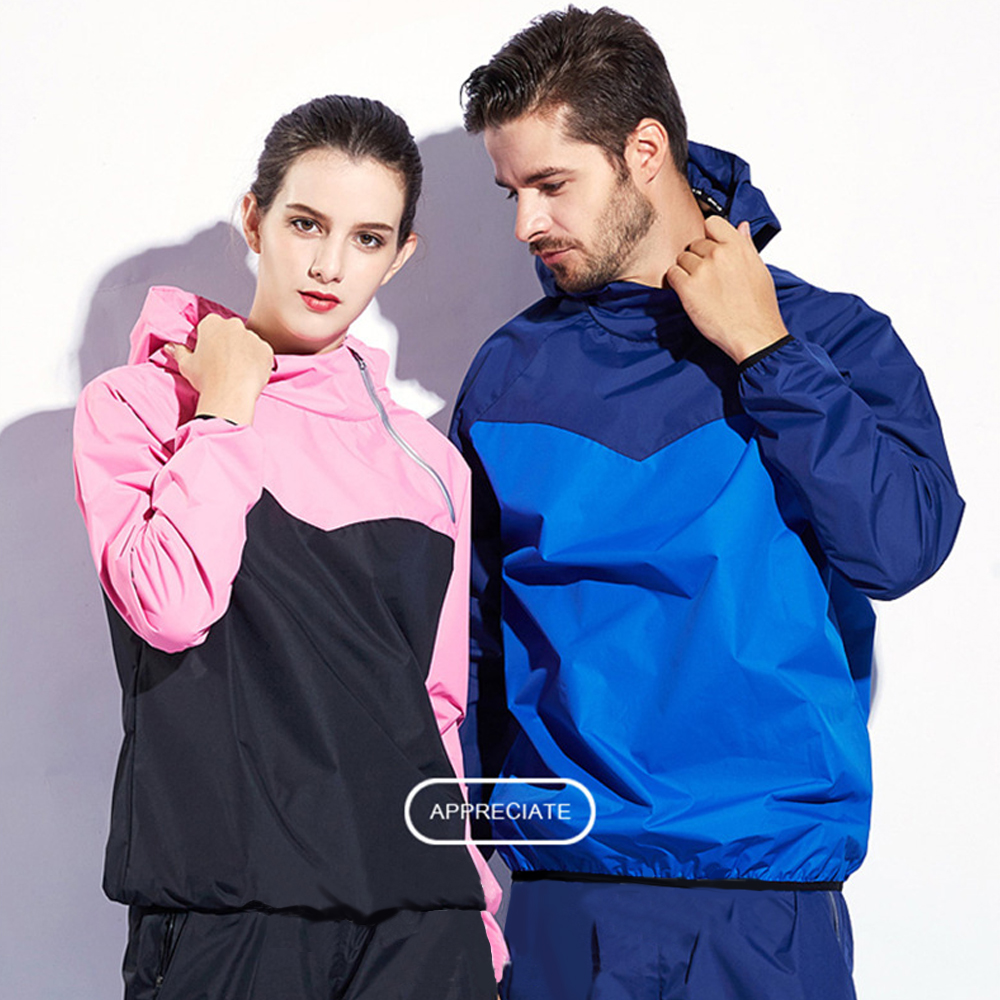 2018 2PCS Running Sets Women Men Sportswear Training Jogging Tracksuit Fitness Hoodies+Pants Gym Nano Silver Sweat Sport Suit
