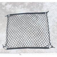 4 HooK Car Trunk Cargo Mesh Net Luggage For Dodge Charger Ram 1500 Challenger Jeep Grand