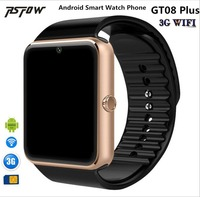 RsFow Newest 3G WiFi QW08 Android Os Upgrade GT08 Smart Watch Phone Support 3G SIM Card