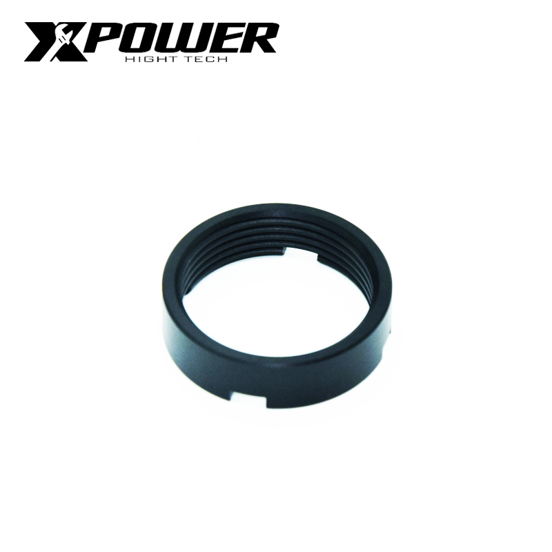 XPOWER Tow Core Fixed Ring Buttstock 6 Position Stock Pipe Rod For Airsoft Accessories M4 AEG Paintball Air Guns Hunting