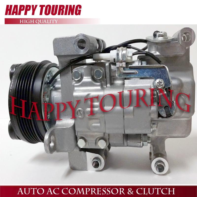 SET AC Compressor CO 10793C 95200-65DE0 for 02-07 Suzuki Aerio 2.3L 2.0L Great