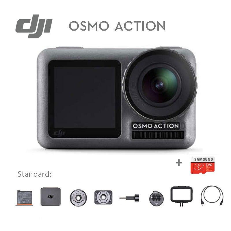 In Voorraad DJI Osmo Action dual schermen 4 K HDR Video UHD Beeldkwaliteit Waterdichte originele gloednieuwe-in Sporten & actie video camara van Consumentenelektronica op  Groep 1