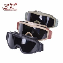 High Quality ESS Goggles Sunglasses Outdoor Sports Army Bullet-proof Fan Anti-Fog Eyewear Military Goggles Wholesale