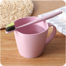 1PCS Plain Eco-friendly Creative Thick Circular Water Cups Toothbrush Holder PP Cup Rinsing Wash Tooth Mug Bathroom