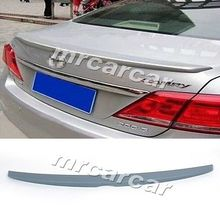 JC Style ABS Unpainted Grey Primer Trunk Boot Spoiler ,Car Racing Wing Tail Lip Fit For Toyota Camry 2006-2014
