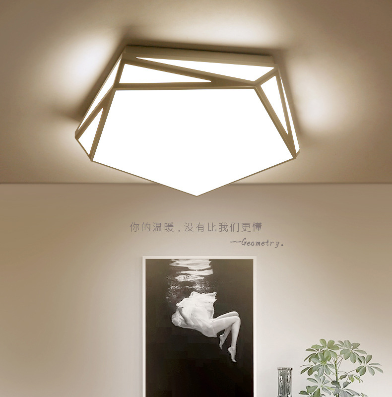 Minimaliste led ceiling light led flush mount ceiling light luminarias de led lustre de teto para sala