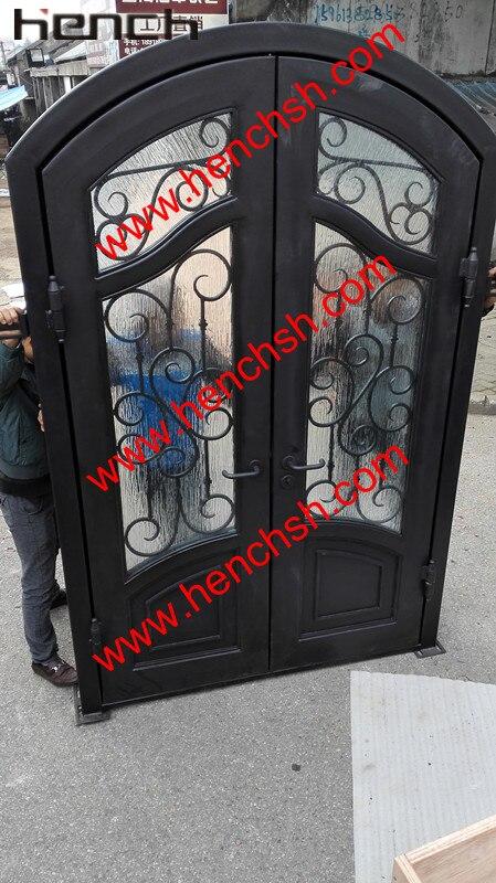 hench privado design villa de lujo hierro forjado puertas de entrada vt