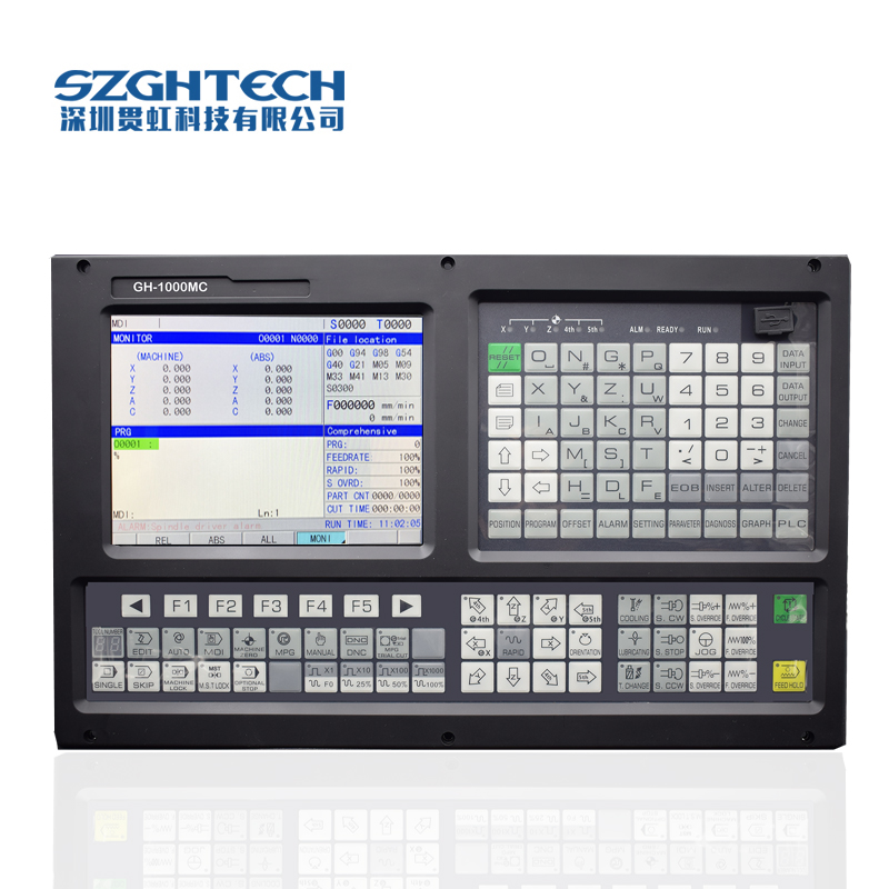 universal 2 Axis CNC lathe control system Support ATC , Macro function and PLC function for CNC Lathe & Turning Machinery цены