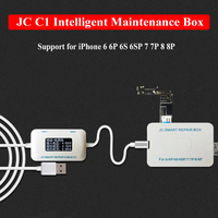 JC C1 Smart Repair Box for iPhone 6 6P 6S 6SP 7 7P 8 8P OLED Screen Test Cable Charging Fault Detect Motherboard Test Tool