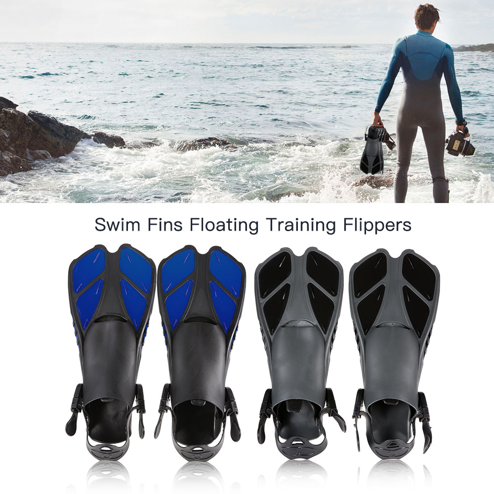Lixada Swimming Flippers Snorkel Swim Fins Neoprene Anti-slip Shoes Scuba Diving Fins For Adults Snorkeling Surfing Water Sports