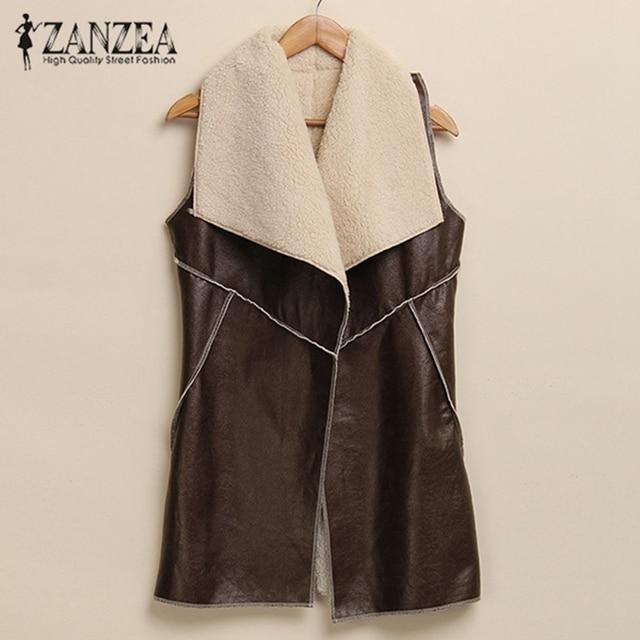 f4e6199b4 2017 Autumn Winter Women Fashion Leisure Warm Faux Fur Collar Long ...
