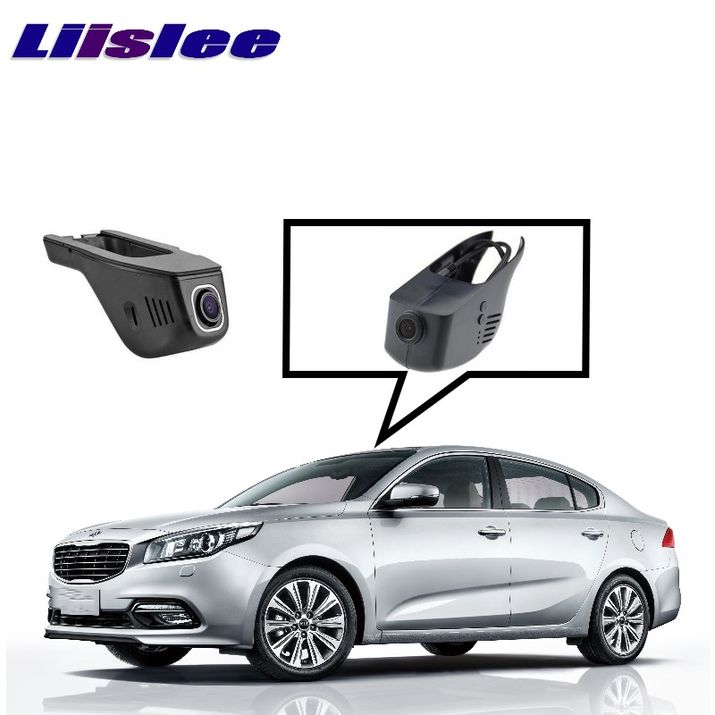 LiisLee Car Black Box WiFi DVR Dash Camera Driving Video Recorder For KIA K4 K5 Optima 2016 2017 bigbigroad app control car wifi dvr for vw tiguan dual camera driving video recorder car dash camera car black box night vision