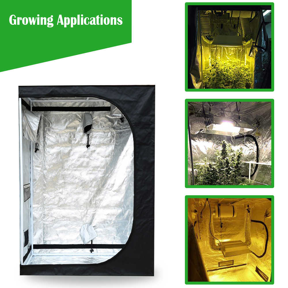 Hydroponic Indoor Grow Tent Kit Grow Room Box 2x2 3x3 4x4