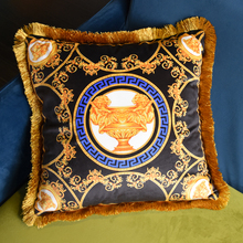 45x45cm Vintage Luxury Pillow Case Soft Tassel Throw Pillowcase Home Knitted Cover for Body Bed Office