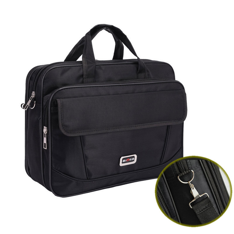 Men's Waterproof Briefcase Men Bags Hand-held Nylon Laptop Bag Travel Suitcase Men Large Capacity Messenger Shoulder Bags