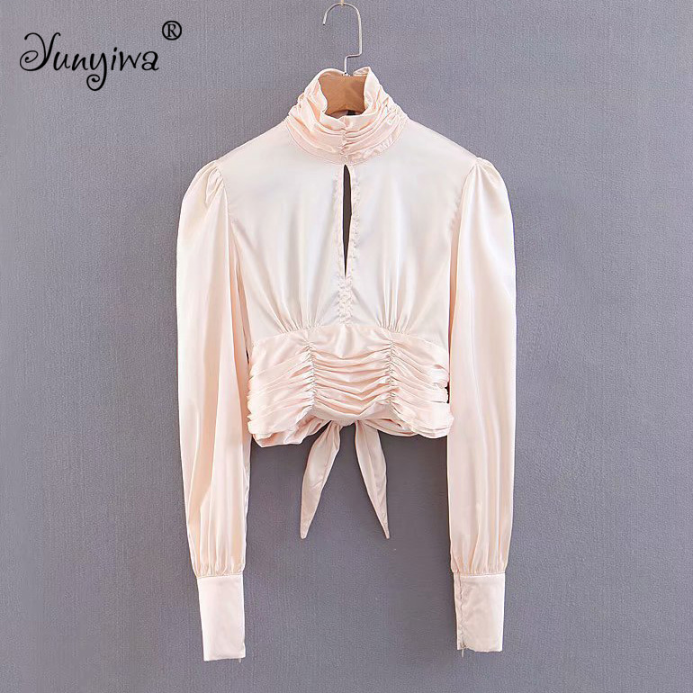 Women   Blouses     Shirts   Women's new wholesale sexy strapless backless   shirt   Tops Blusas Mujer De