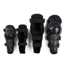4Pcs/set Motorcycle Elbow Knee Protector Bicycle Kneeling Cycling Bike Racing Tactical Skate Protective Pad and Guard