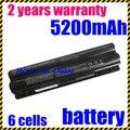Jigu preço especial nova bateria de 6 células para dell xps 14 l702x xps 15 l401x l501x l502x l521x 17 l701x 3d laptop