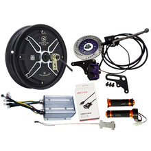 3000 W 10 inch QS Hub Motor Voor Elektrische Motorfiets Conversie kits met Kelly Sinus Controller Ondersteuning Remmen Regeneratieve