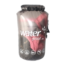 10L 20L PVC Waterproof Swimming Bag Outdoor Water Sports Dry Bag Surfing Boating Rowing Diving Portable Foldable Storage Bag цена