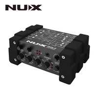 NUX PMX 2/PMX 2U I/O Line Mixer mini mixer console USB sound console 6/8 inputs 2 outputs volume indicator level control