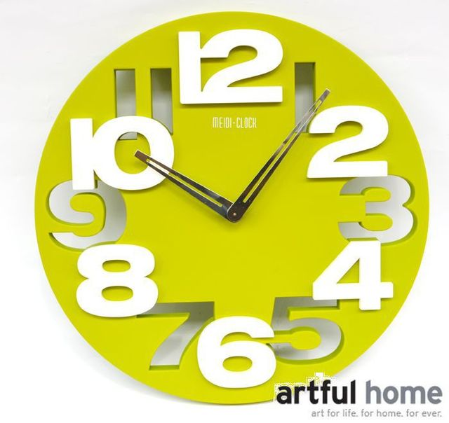 2014 New Modern Design Flame Fashion wall clock brief personalized ...