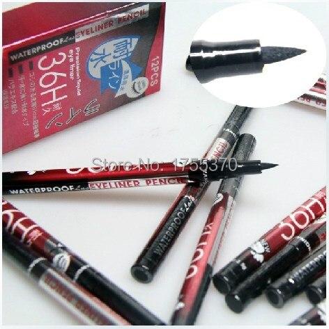 Хит продаж водонепроницаемые черные жидкая подводка для глаз Макияж Красота Eye Liner Pencil высокое качество