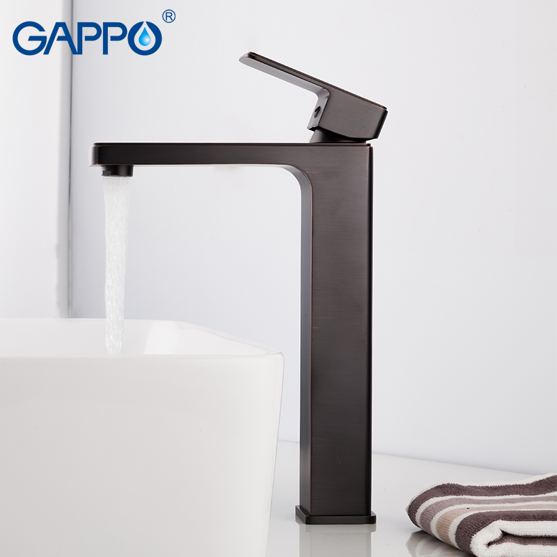 GAPPO basin faucet waterfall bathroom sink faucet mixer tap deck mounted bathroom mixer bath sink taps gappo 1set brass chrome deck mounted bath basin water faucet mixer bathroom sink mixer tap hot and cold waterfall grifo g1008