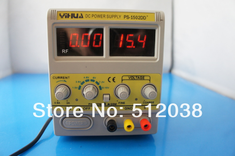 ФОТО YH-1502DD+ 15V 2A Adjustable Variable DC Power Supply