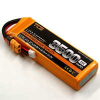 Lipo Battery 11 1v 3500mAh 35C 3s FOR RC Airplane Free Shipping