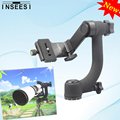 """INSEESI Panoramic 360 Degree Gimbal Tripod Head Professional Telephoto Lens Quick Release Plate 1/4"""" Screw For DSLR Camera"""
