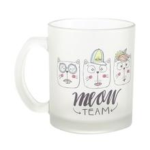 Creative Cute Mom Glass Coffee Mug Milk Breakfast Cup for Best Gift DIY Customized Logo