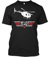 Pi Giorno Elicottero Pilota S-Lotto Hanes Tagless Tee T-Shirt