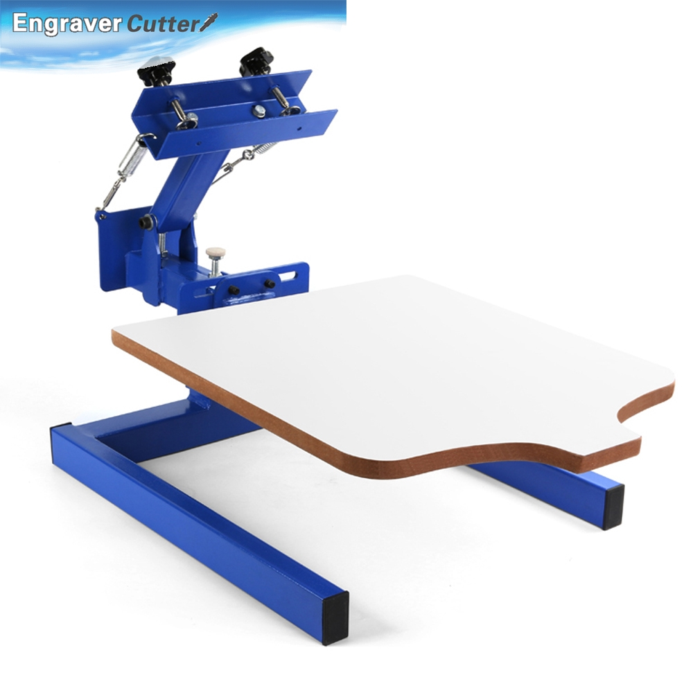 Buy brandnew 1 color 1 station silk for T shirt printing machine suppliers