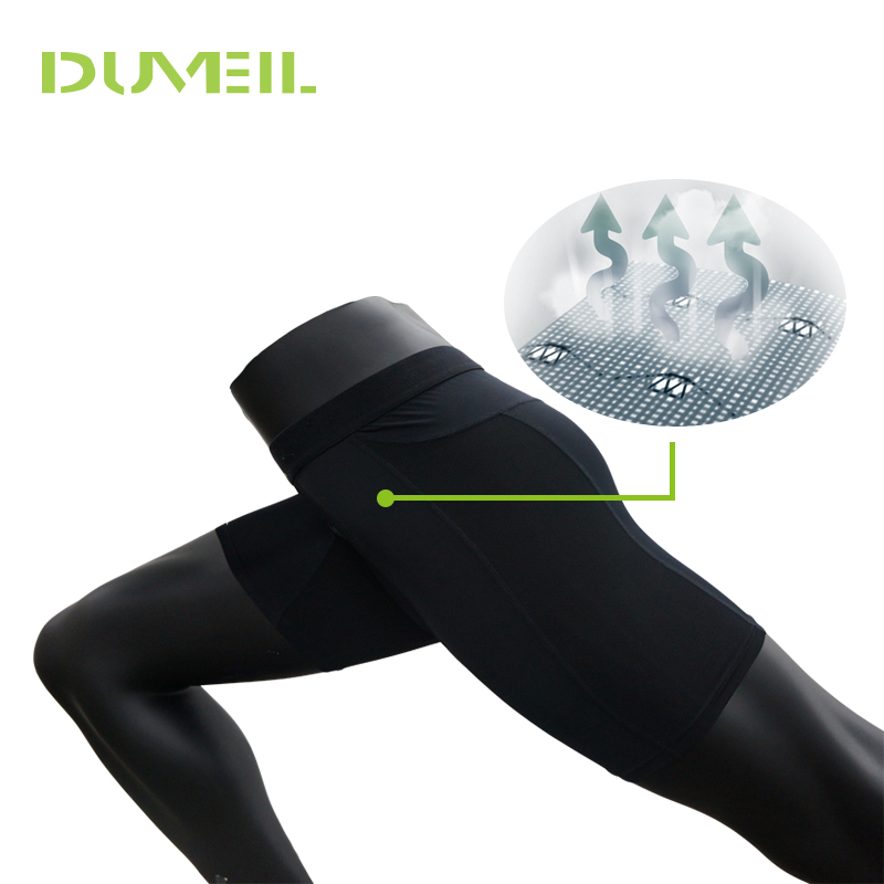 DUVEIL Brand Clothing Male Compression Shorts Board Bermuda Masculine Short Pants In Stock Quick-drying Tights Solid