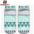 ZHBSLWT Fashion Top Sale Casual Cute Character Polyester Sock New 3D Print Socks For Women Rushed Animal Different Patterns