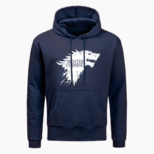 Game Of Thrones Hoodies For Men House Stark The Song Of Ice And Fire Winter Is Coming Men's Sportswear 2019 New men Sweatshirt цена