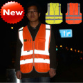 Road safety High visibility clothing safety  reflective clothing safety vest reflective vest yellow orange hi vis vest