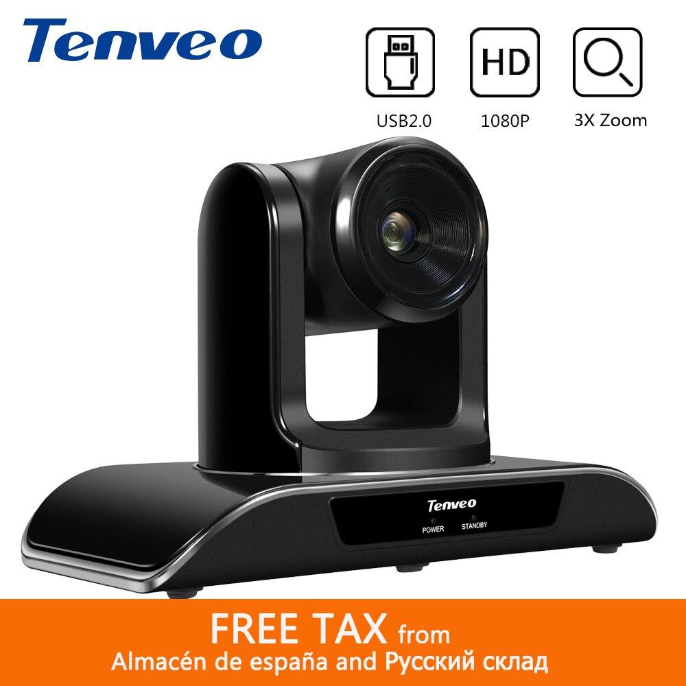 [Spagna Magazzino] Tenveo VHD3U 3X USB PTZ Della Macchina Fotografica 1080P HD Conferenza Con H.264 Trasmissione In Diretta Streaming telecamere di Assistenza Sanitaria