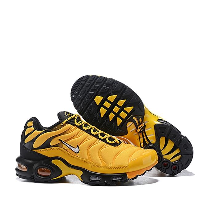 Nike Air Max Plus Original Men's Running Shoes Outdoor Breathable Comfort Sneakers Designer Shockproof Jogging Footwear Athletic 3