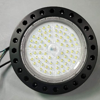 New HJ UFO CO1 Mining Lamp Workshop Patch Mining Lamp Parking Lot Lighting 150W 200PCS LED Lamp Beads 100 277V 120 130m/w 50000H