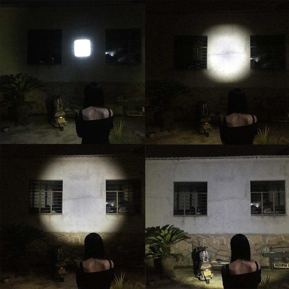 Lanternas e Lanternas lanterna led torch zoomable xml-t6 Distância Focal : Ajustável