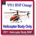 WLtoys V911 2.4 GHz 4CH Micro Single-rotor RC BNF Helicopter com Giroscópio Apenas o Corpo
